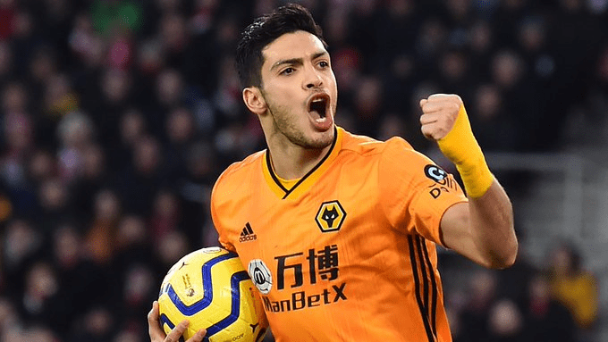 Raul Jimenez on his way to Manchester United